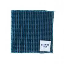 Panama Coco - Essuie-tout lavable - 5 feuilles bleues - Oeko Tex