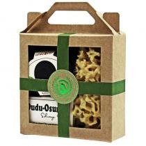 DUDU OSUN - Coffret cadeau mini boîte à savon petit velours noir, Dudu Osun®