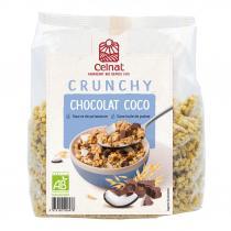 Celnat - Crunchy Chocolat-noix de coco 500g bio