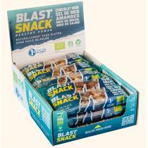 Blast Snack - Barre de fruits secs - Chocolat noir Sel de mer - 15 x 40g