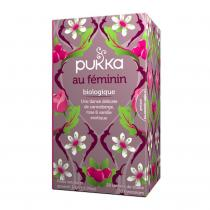 Pukka - Infusion Au Féminin (canneberge, rose et vanille) 20 sachets bio