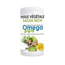 Propos'Nature - Capsules d'huile végétale de Sacha Inchi (90
