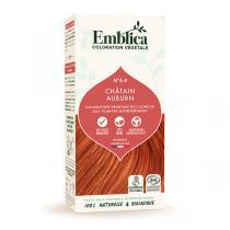Emblica - Coloration végétale Châtain auburn 4.4 100g