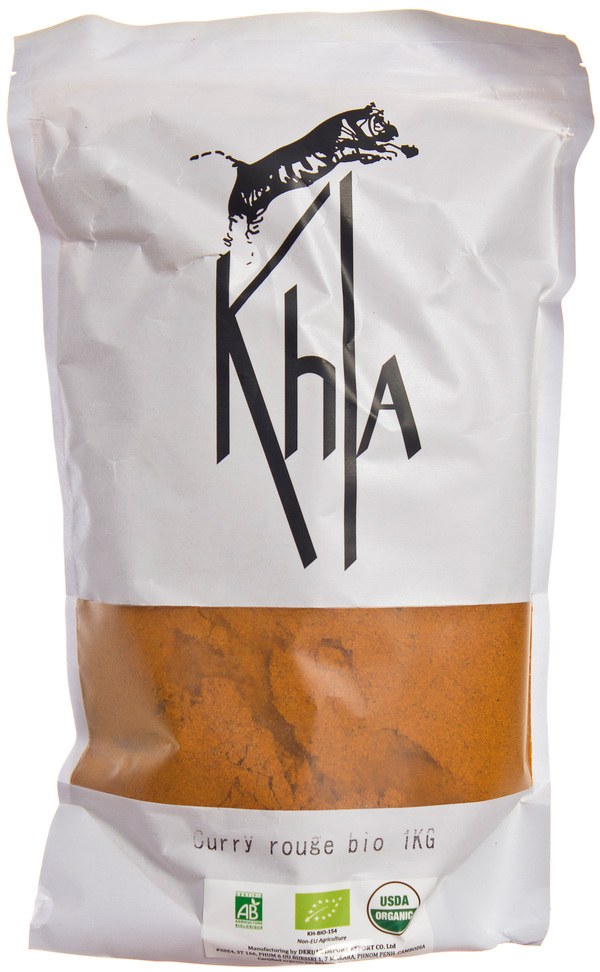 Khla - Curry rouge en poudre - en vrac - 1 kg