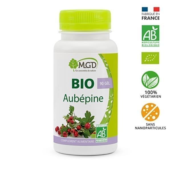 MGD - Aubépine 90 gél. bio