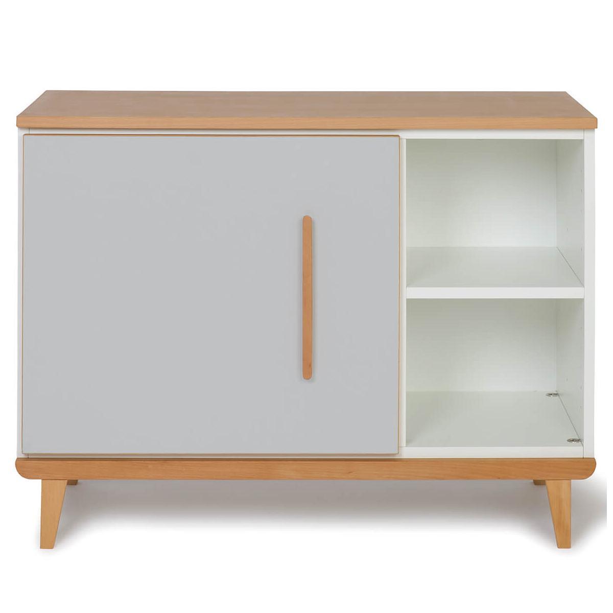 Wookids - Petit meuble 1 porte NADO grey