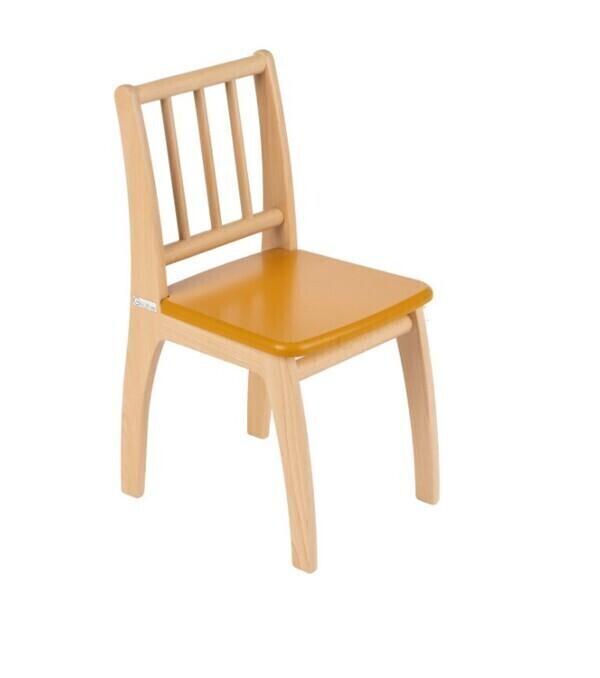 Geuther - Chaise pour enfant Bambino jaune et naturel