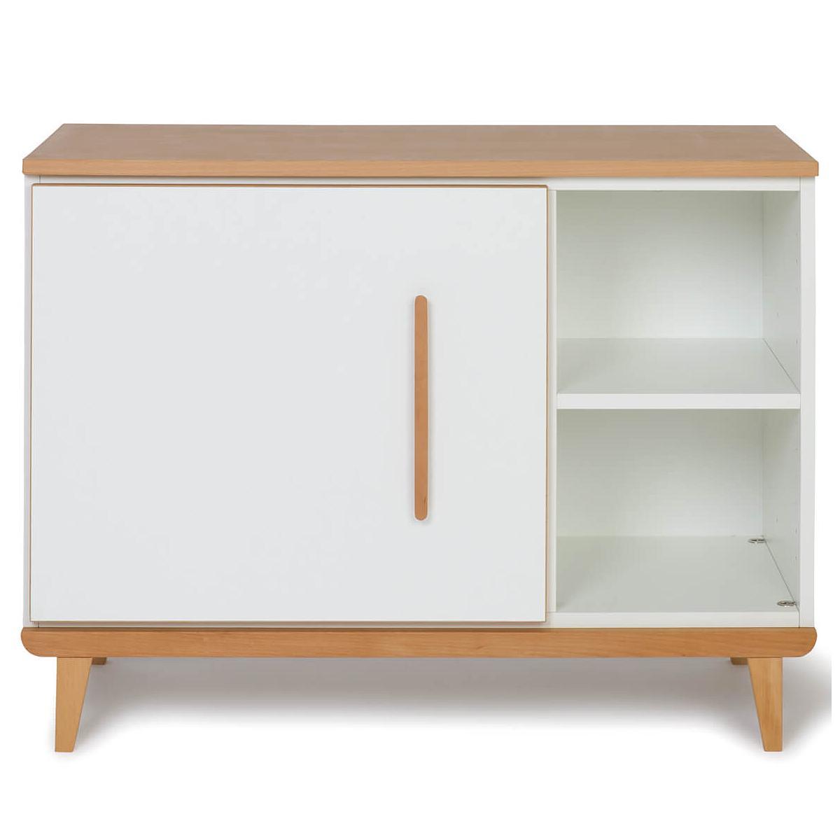 Wookids - Petit meuble 1 porte NADO white