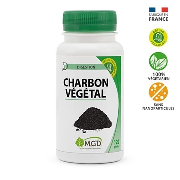 MGD - Charbon végétal 120 gél.