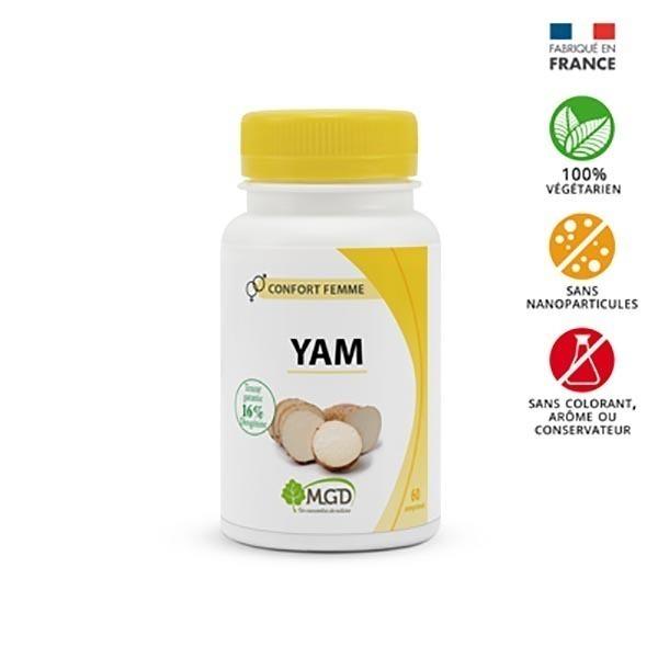 MGD - Wild yam 60 comp.