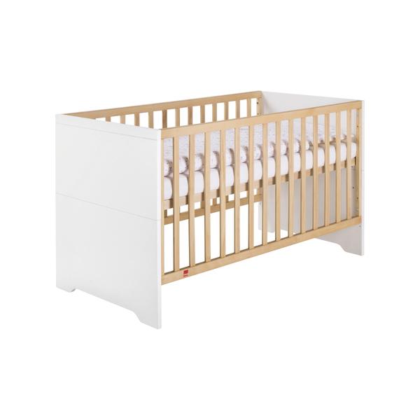 Schardt - Lit bébé Coco White combi 70x140 cm blanc L : 144 cm l : 77 cm