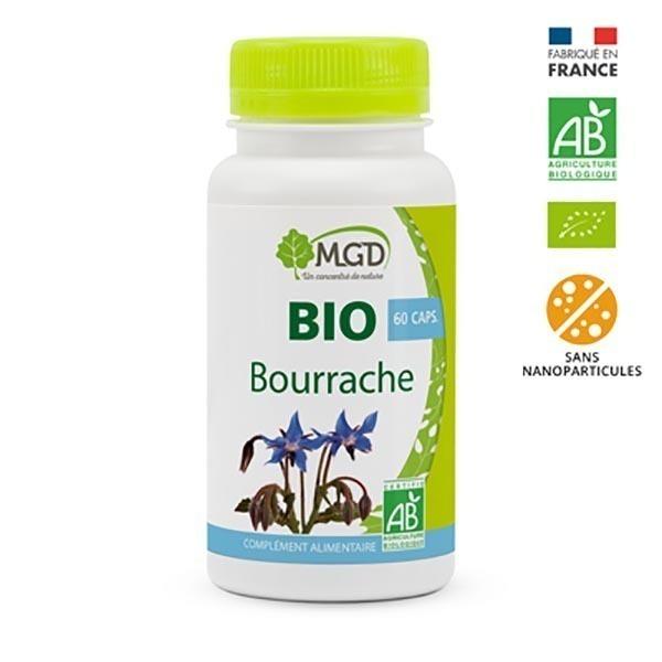 MGD - Bourrache 60 caps. bio