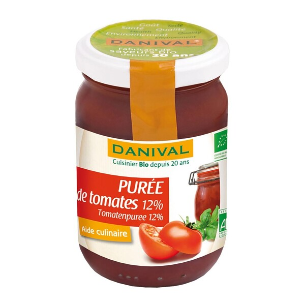 Danival - DANIVAL - PURÉE DE TOMATES 12% 200G