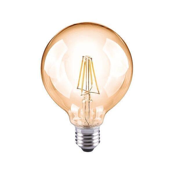 Hoopzï - Ampoule LED Thomas Watt G95 AMBRÉE 4W