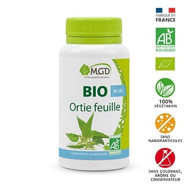 MGD - Ortie feuille 90 gél. bio