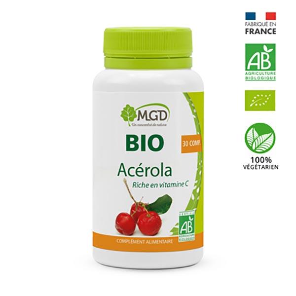 MGD - Acérola framboise 50 comp. bio