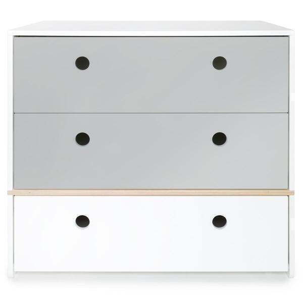 Wookids - Commode COLORFLEX p grey-white