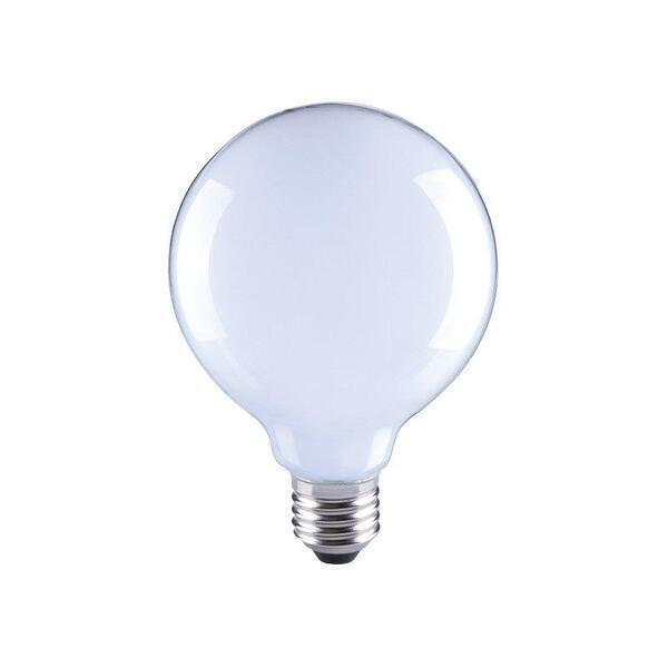 Hoopzï - Ampoule LED Thomas Watt G95 Milky 8W