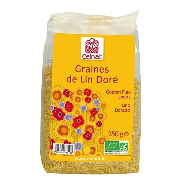 Celnat - CELNAT - GRAINES DE LIN DORÉ