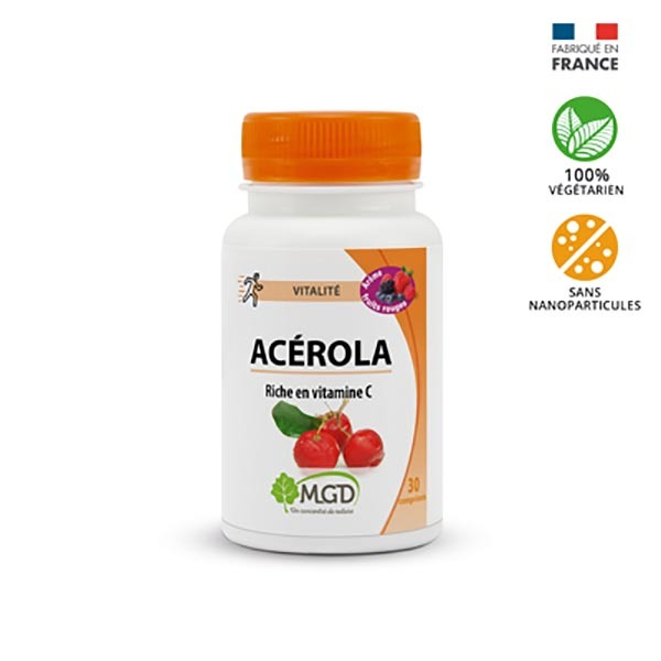 MGD - Acérola fruits rouges 50 comp.
