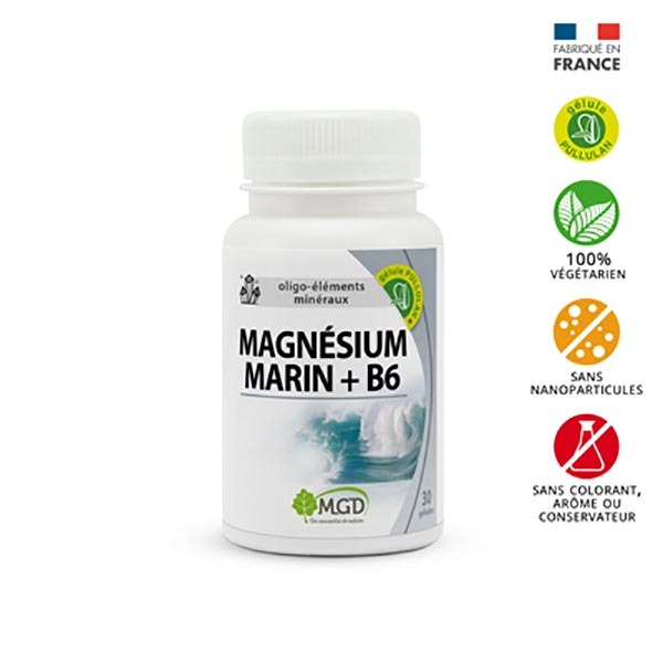 MGD - Magnésium marin 30 gél.