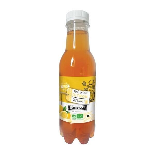Biodyssée - Thé glacé - thé noir et citron 1l bio