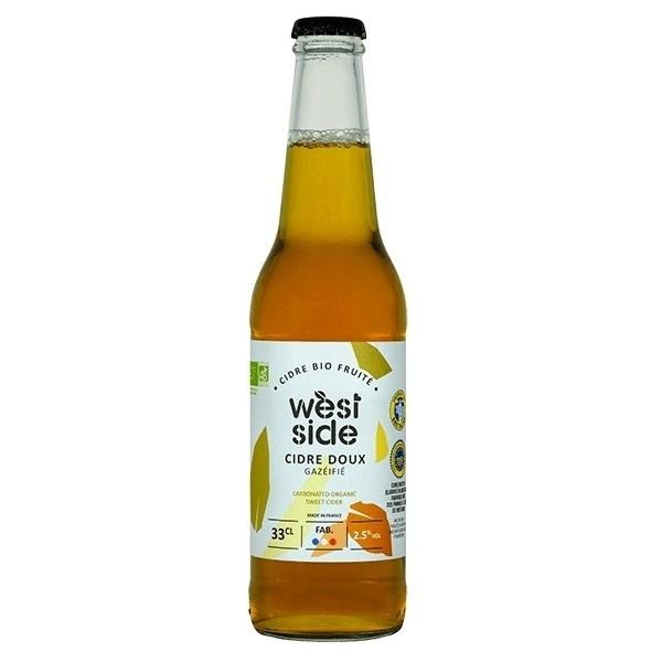 Côteaux Nantais - Cidre doux WEST SIDE Bio - 33 cL
