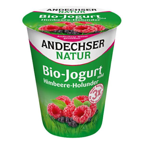 Andechser Natur - Yaourt framboise sureau 400g