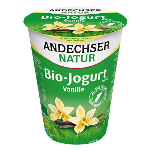 Andechser Natur - Yaourt vanille 400g