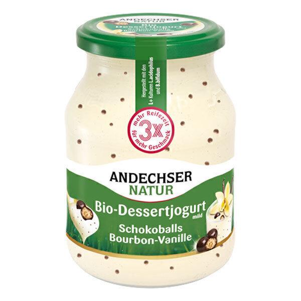 Andechser Natur - Yaourt vanille perles choco 500g