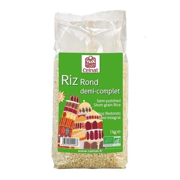 Celnat - CELNAT - RIZ ROND DEMI-COMPLET