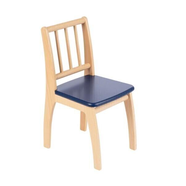 Geuther - Chaise pour enfant Bambino bleu et naturel