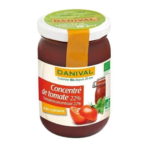 Danival - DANIVAL - CONCENTRÉ DE TOMATES 22% 200G
