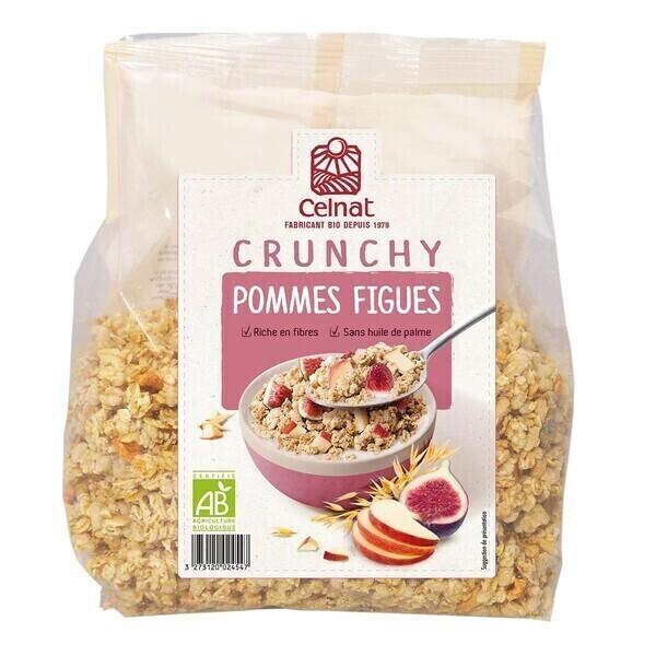 Celnat - Crunchy Pommes-figues 500g bio