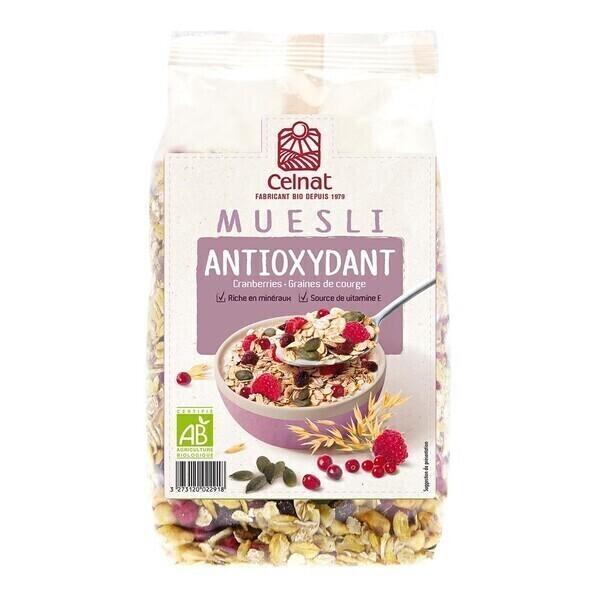 Celnat - Muesli Antioxydant 375g bio