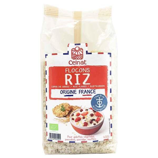 Celnat - Flocons de riz origine France 400g