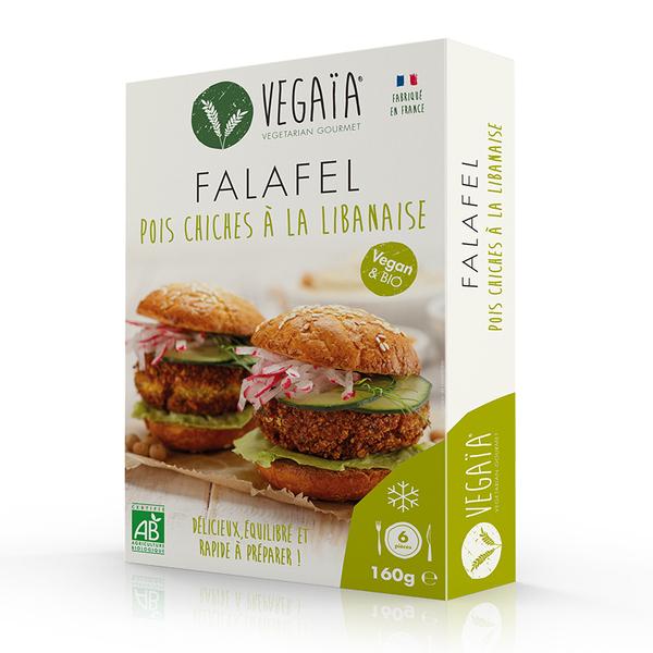 Vegaïa - Falafel pois chiche à la libanaise 160g
