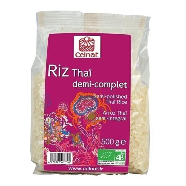 Celnat - CELNAT - RIZ THAI 1/2 COMPLET 500G