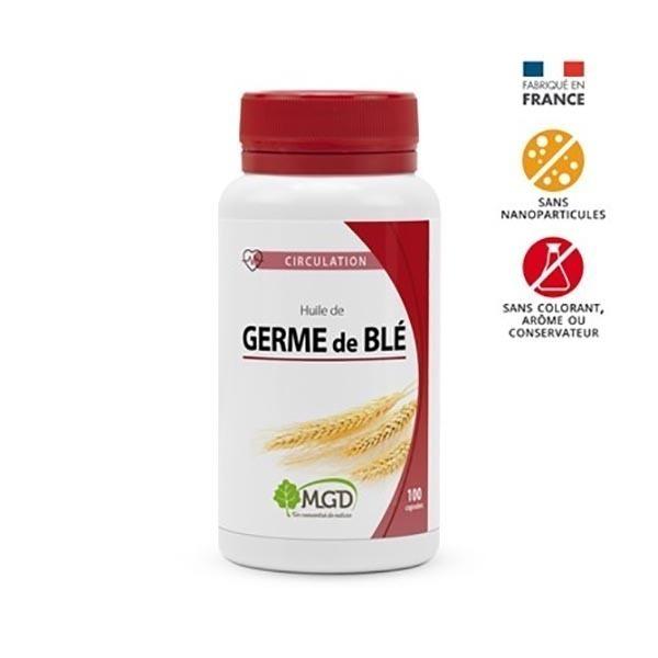 MGD - Huile de germe blé 100 caps.