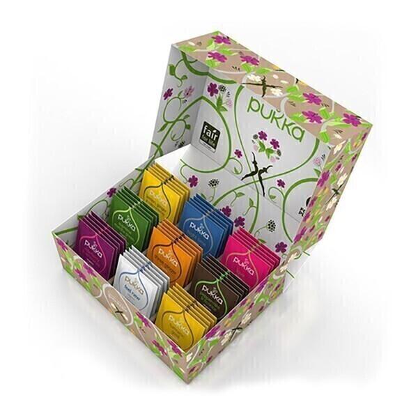 Pukka - Coffret sélection thés & infusions 45 sachets