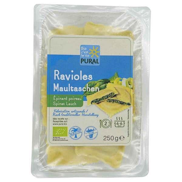 Pural - Ravioles épinard poireau 250g
