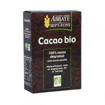 Abbaye de Sept Fons - Cacao Maigre Sans Sucre Ajouté 200g