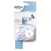 Babysun - 12 Steckdosenschutzteile mit 4 Schlüsseln