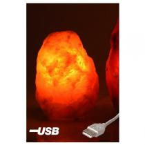 Bio Eléments - natural Salt lamp 0.5 - 1kg, USB port