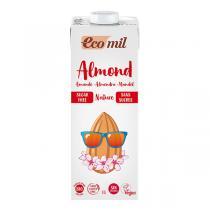 EcoMil - Lait Amande 7% Sans Sucres Bio 1L