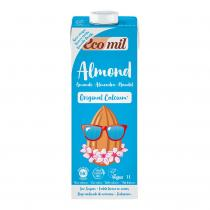 EcoMil - Organic Almond milk High in calcium 1L