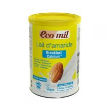 EcoMil - Latte di Mandorle Solubile Breakfast Calcium 400 g