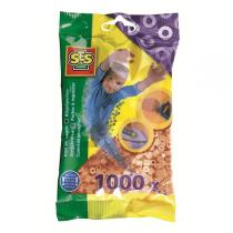SES Creative - Bügelperlen - 1000 Stück - beige