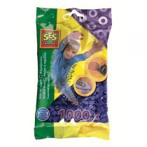 SES Creative - Bügelperlen - 1000 Stück - dunkelblau