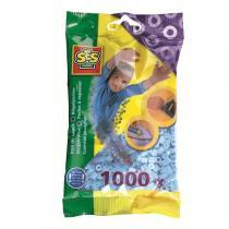 SES Creative - Perles à repasser 1000pcs Bleu clair